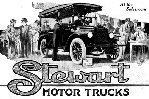 1920 Stewart Motor Trucks by dok1