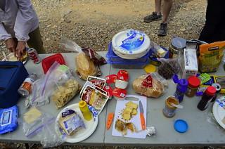 Dedeckera Canyon Lunch