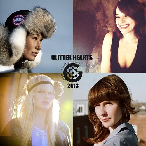 GLITTER HEARTS 2013