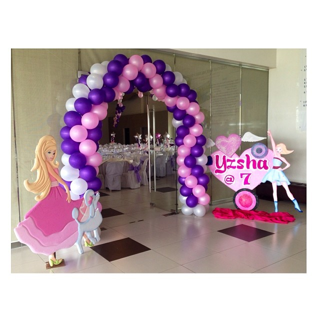 all set for #yzsha7th #ksnaps #ksnapsproductions #7thbirthday #birthday #popstarprincess