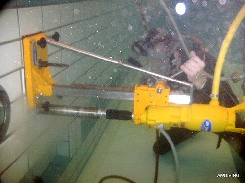 onderwater boren