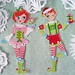 344/365 Jointed Christmas elf paper dolls!