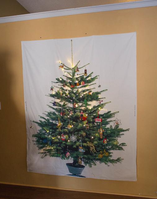 fabric tree by Casa Crafty