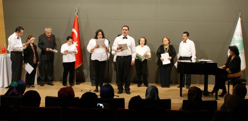 Üsküdar Üniversitesi'nde şizofreni hastalarından müthiş konser