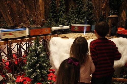 Old Faithful at Jingle Rails