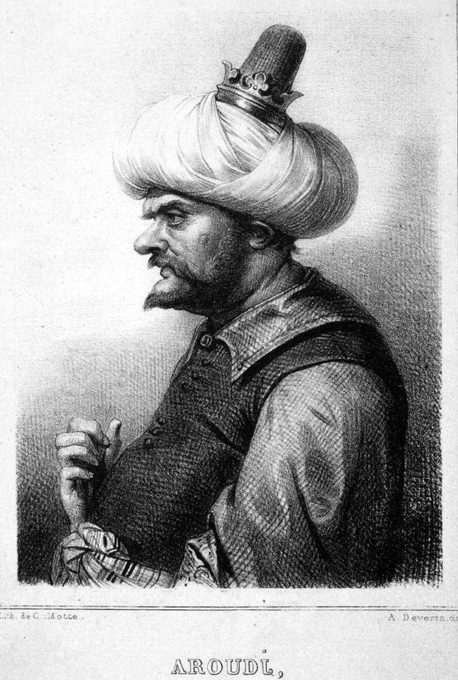 5. El famoso pirata Barbarroja