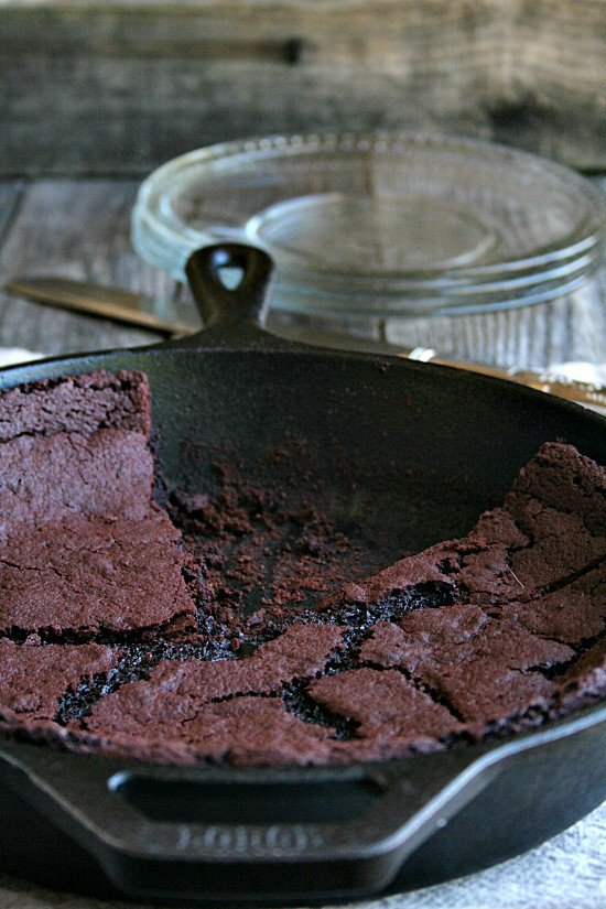 Red Velvet Skillet Brownie
