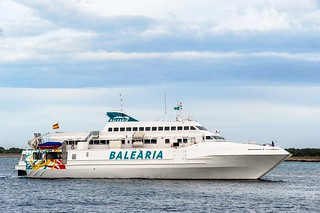 Pitusa Nova, uno de los barcos de Baleària.