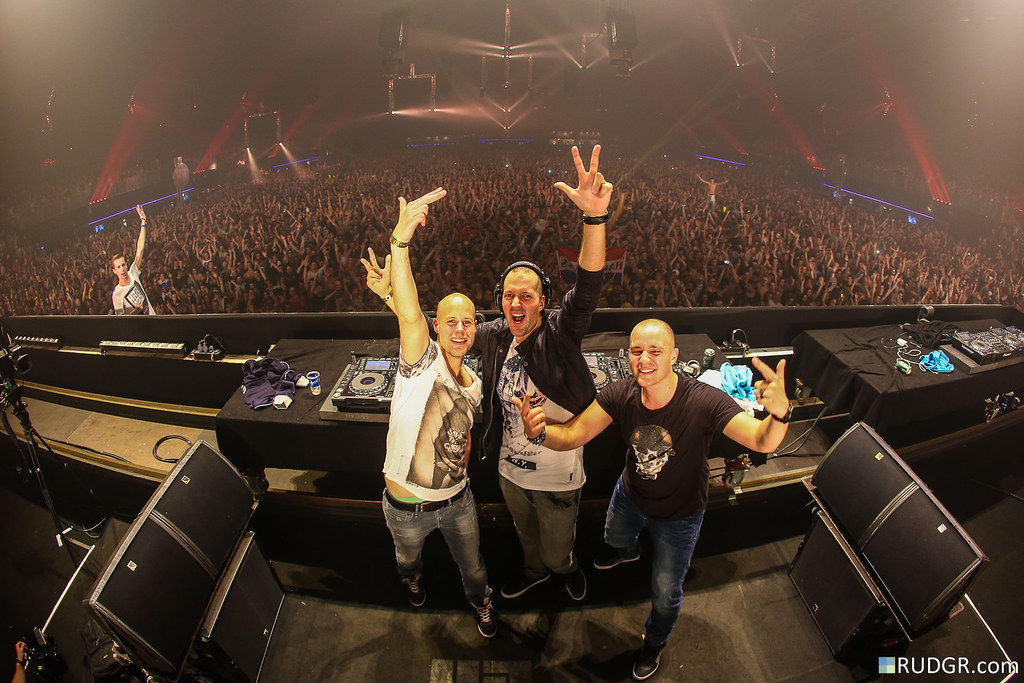 Hard Bass 2014 - Team Yellow: Brennan Heart, Ran-D & Hard Driver