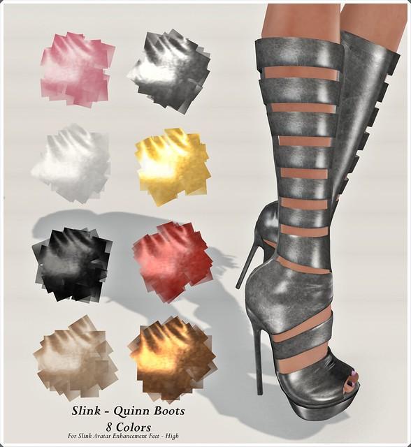 Slink Quinn Boots Composite