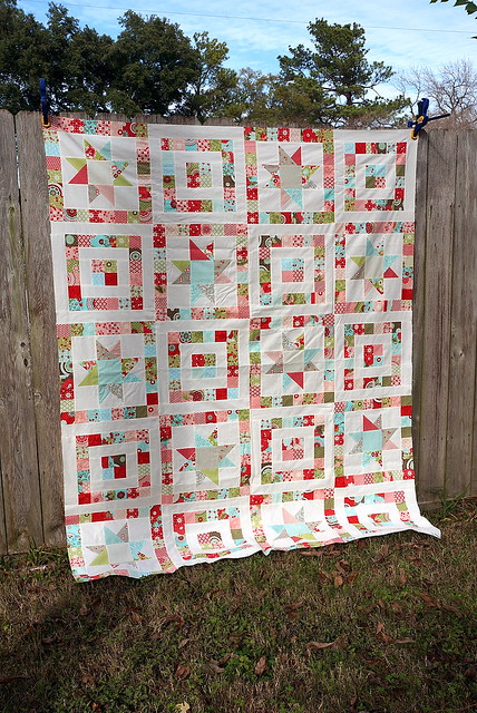Starry-eyed Quilt Top