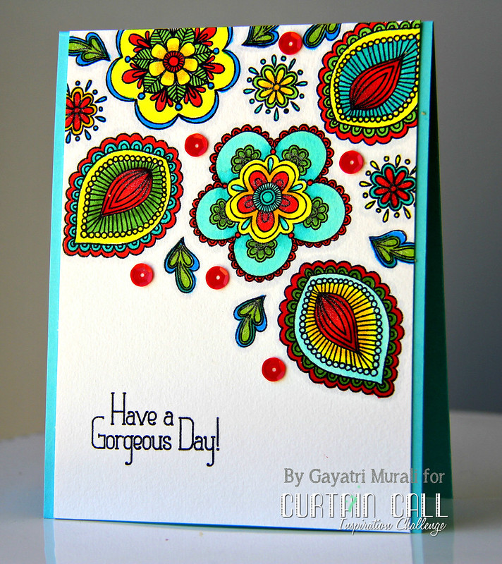 Have a gorgeous Day card