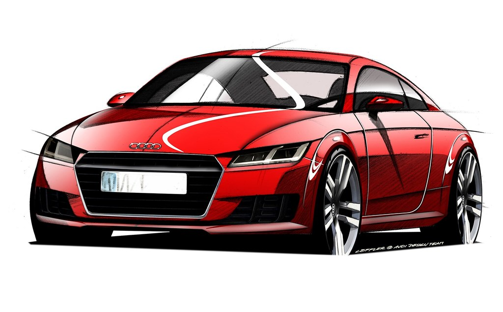 The Audi Tt Forum View Topic Official Audi Mk3 Tt Teaser Images