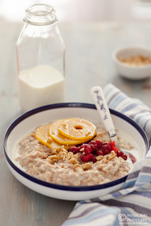 Porridge with Caramelized Quince Cranberries-0020