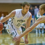 2014-02-30 -- Men's basketball vs. Augustana.