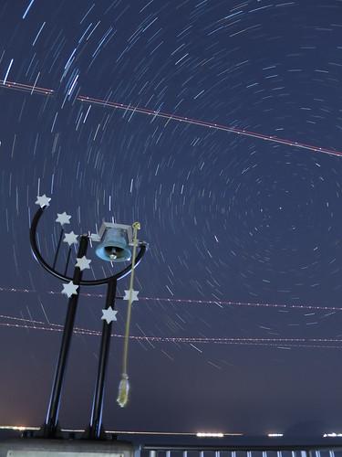 PowerShot S120 sample : Star Trails 20min.