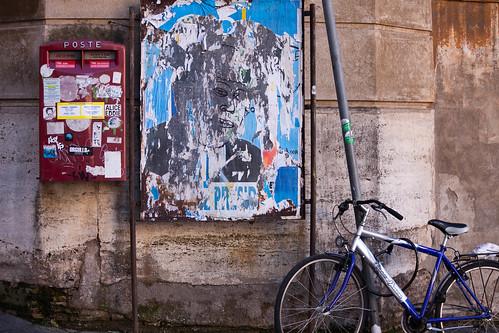 Fahrrad in Rom; copyright 2014: Georg Berg