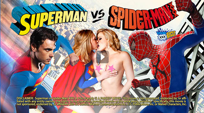 Порно фильм spider man xxx