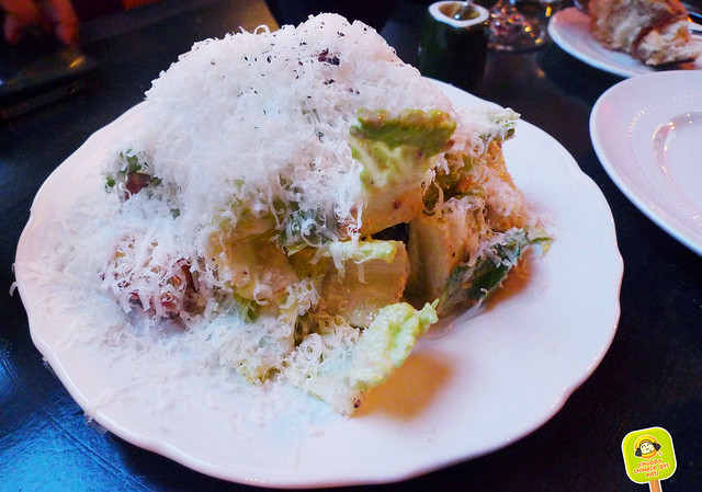 m wells steakhouse - caesar salad