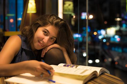 Amanda Studying