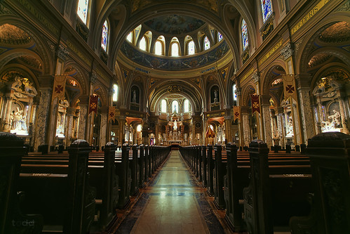 basilica ourladyofvictory lackawanna majestic aweinspiring interior 2014 adobephotoshop art buffalo usa canon1740 canon6d ceiling church catholic colourful flickr hiddengem holidays marchbreak moosepetersonwarmingfilter morning newyork painting shadows tourism shrine cupola toddmurrison