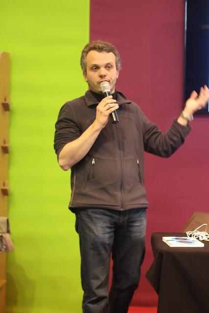 Nicolas Arnaud - Salon du Livre de Paris 2014