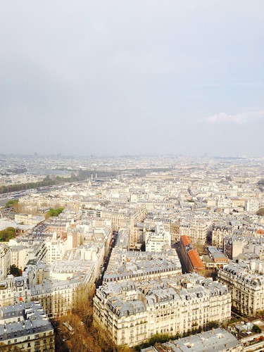 Paris from the Eiffel Tower 2014