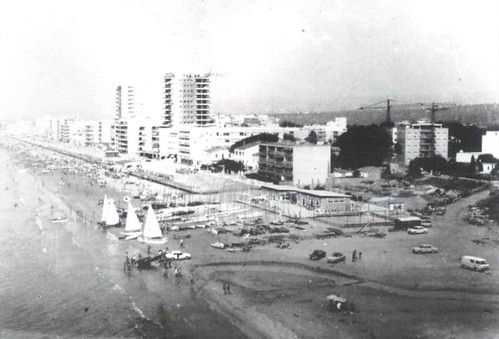 Vista aèria del Club l'any 1969.