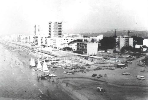 Vista aèria del Club l'any 1969.