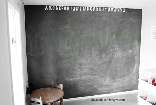 Chalkboard Accent Wall 2