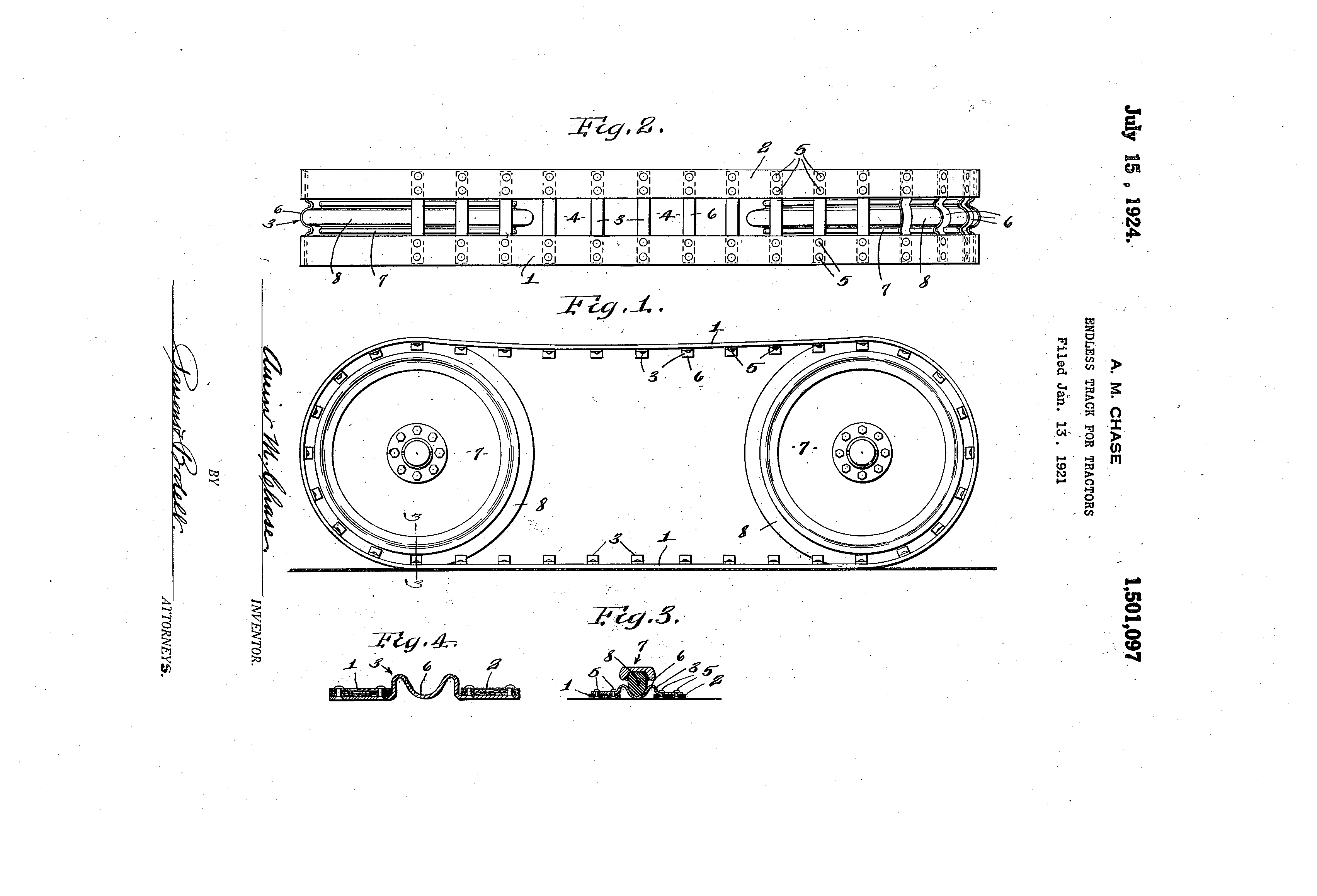 Endless Belt Patent 1