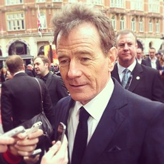 This guy just tried to sell me some meth #BryanCranston #BreakingBad #Godzilla #Premiere