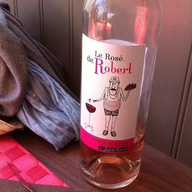 Rosé label. #france