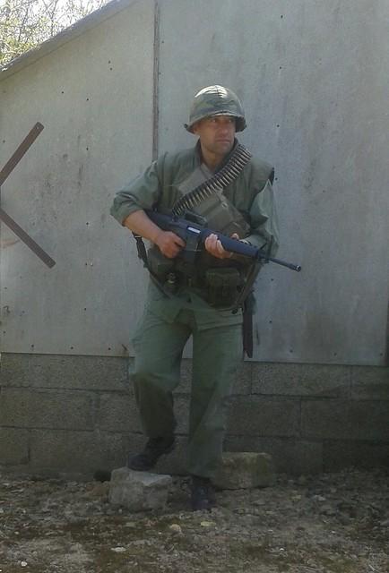 FLAK VEST M55 USMC VIETNAM/ GILET PARE ECLAT 14012081047_03f0f1cbac_z