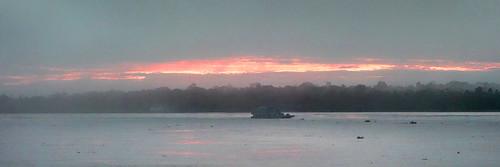 panorama sunrise rainforest amazonriver ucayaliriver perubest rioucayali