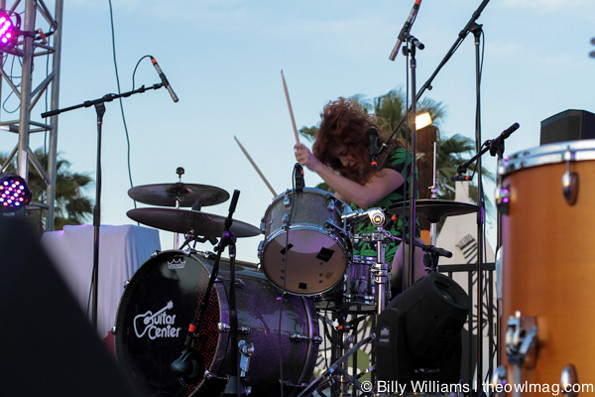 Deap Vally @ Desert Daze 2014, 4/27/14