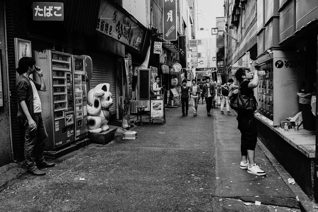 横浜×モノクロ⑥