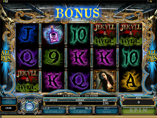 Jekyll and Hyde Free Spins