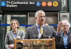 Forest Hills-71 Av (E, F, M, R) Subway Station ADA Project