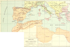 Image taken from page 53 of 'Géographie historique. Leçons en regard des cartes. Résumant l'histoire de la formation territoriale des pays civilisés et l'histoire de la civilisation, etc'