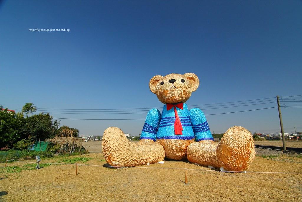 臺中地景藝術節 迷失小熊 (33)