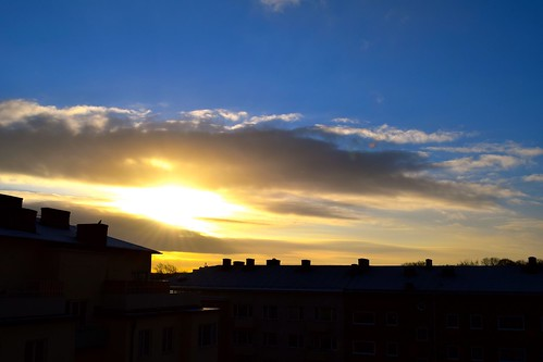 sky sun sunlight weather clouds sunrise sweden bluesky malmö̈