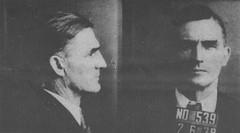 Patrick B. Whalen Mug Shot: 1937 ca.