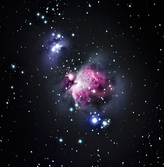 Urban astrophotography NYC iOptron SkyTracker Canon 60Da Orion Nebula M42