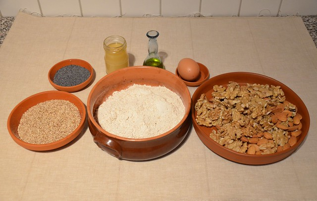 Ingredients: Laterculi (Poppy-seed Cakes)