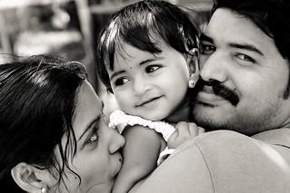 A family portrait, Kerala, India