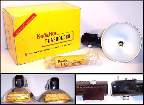 Kodak Kodalite Flasholder and  variations
