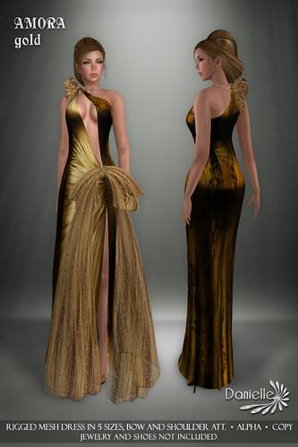 DANIELLE Amora Gold