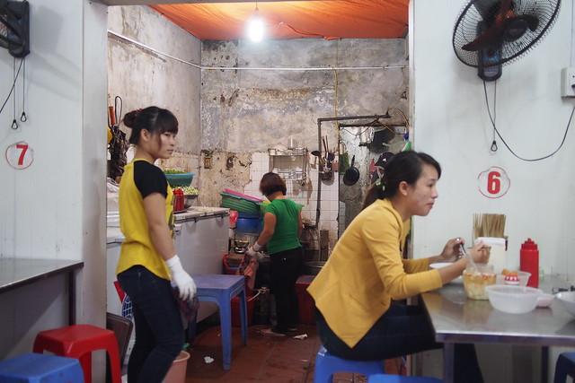Phở bò shop, Hanoi, Vietnam