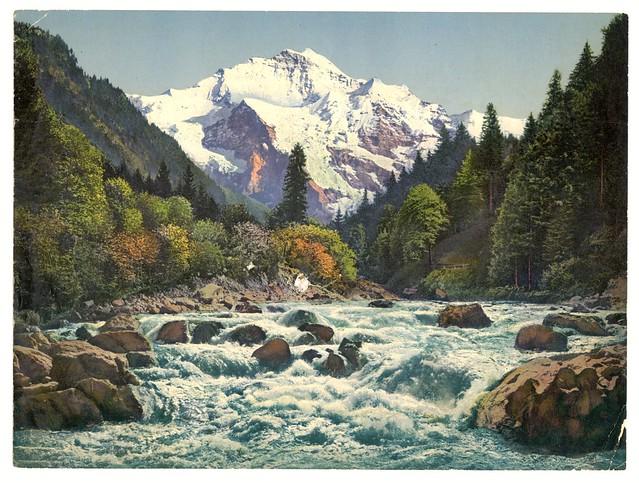 Gorge of the Lütschine River, Bernese Oberland, Switzerland-LCCN2001701202